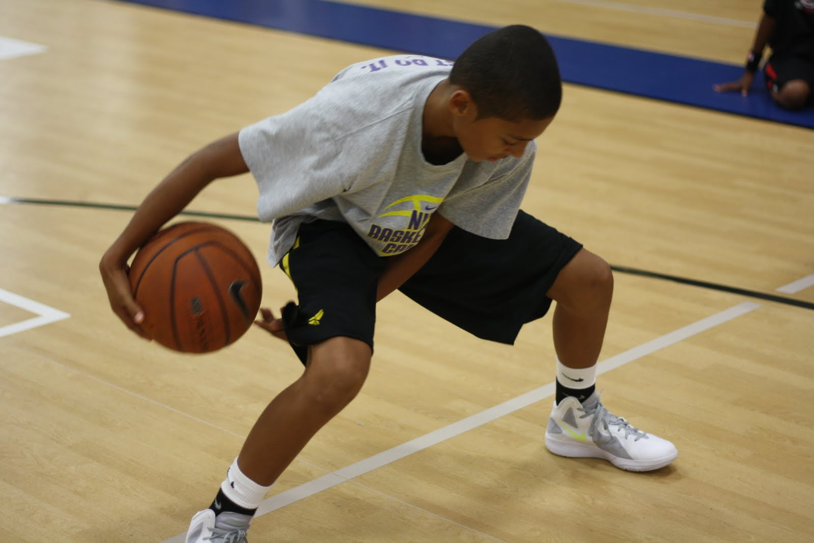 Elite Hoops Basketball: Day 2 of NIKE Basketball Camp at ...