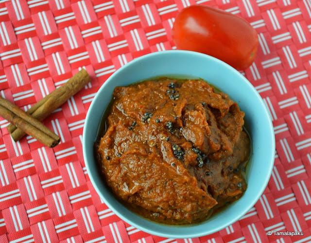 Masala Tomato Chutney