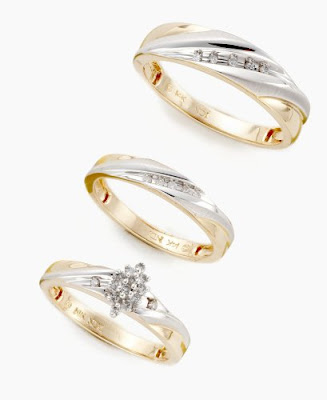 Gold wedding ring/rings for women