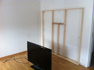 Skjule ledninger på veggen