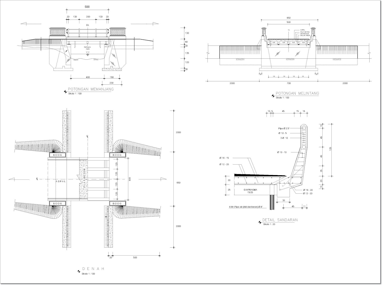 Image Result For Konstruksi Jembatan Sederhana