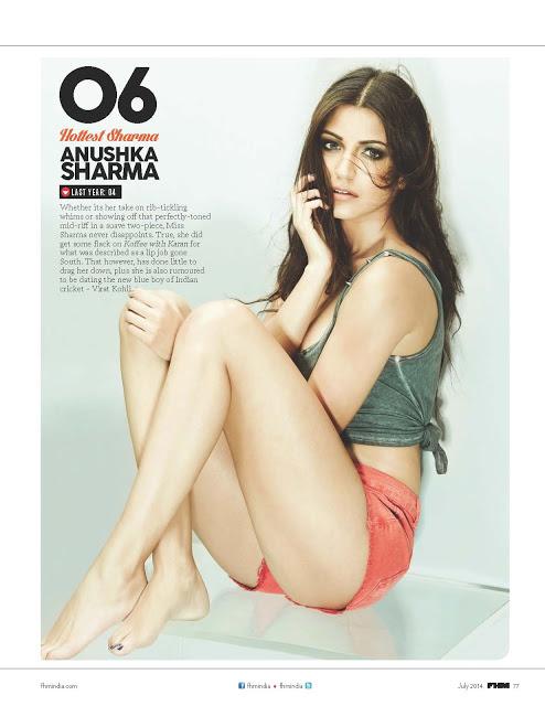 Anushka Sharma FHM