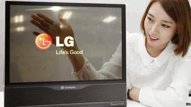 LG Roll-able 18 inches OLED display, LG Rollable 18 inches OLED display, transparent screen, LG display