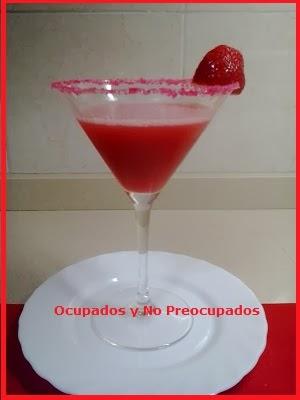 Ocupados y no preocupados zumo de fresa - Como hacer zumo de fresa ...