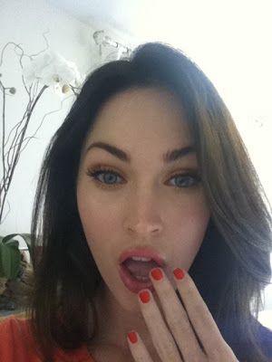 Megan Fox facebook photos
