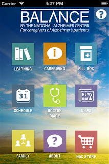 Balance: for Alzheimer's Caregivers