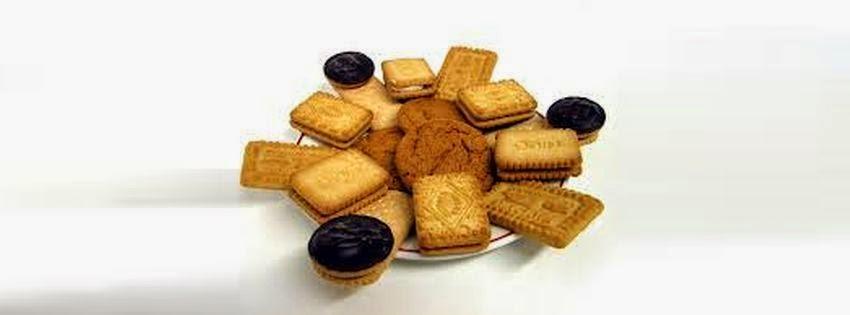 Une image de couverture facebook biscuit