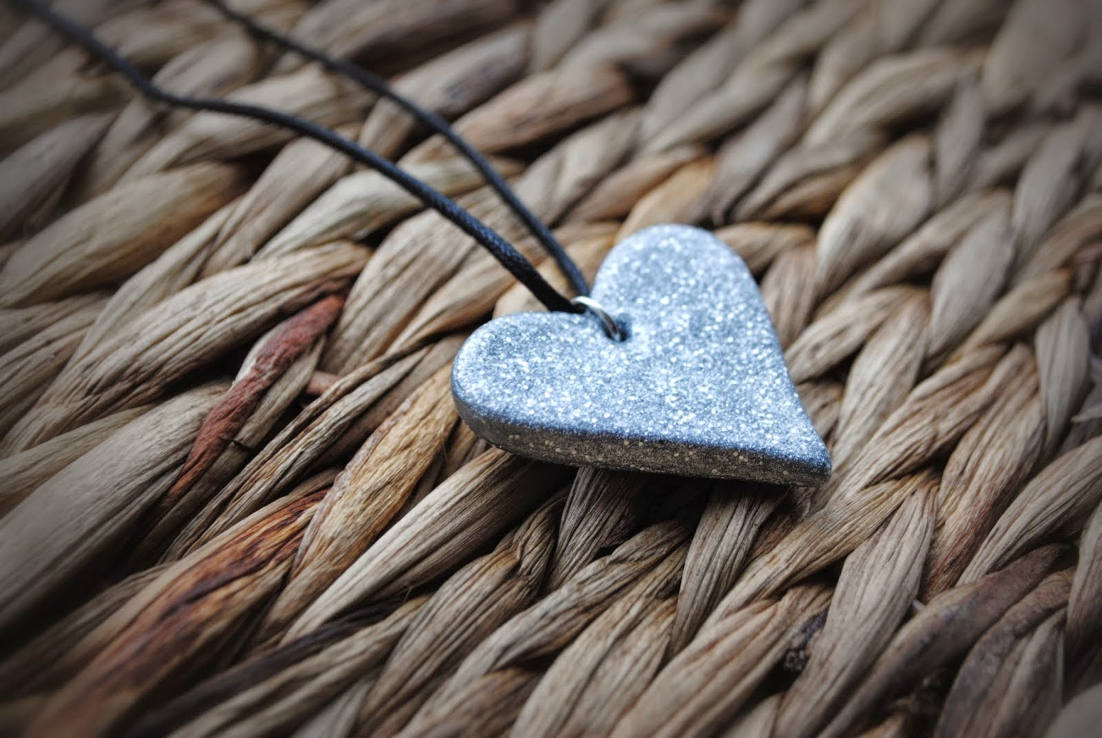 DIY Silver Clay Heart Pendant