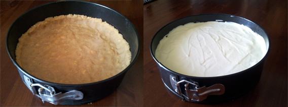 cheesecake-preparazione