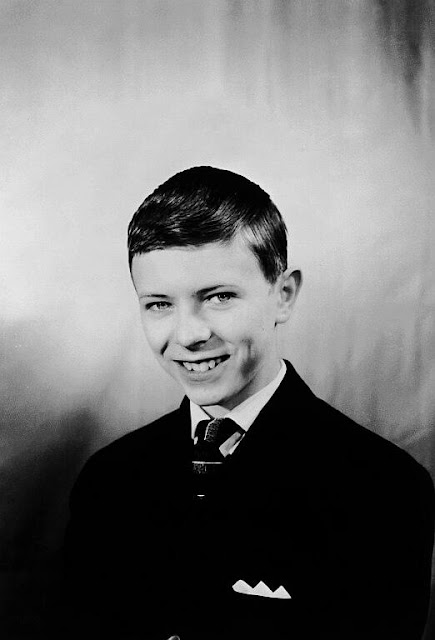 David Bowie at school c. 1953-1963