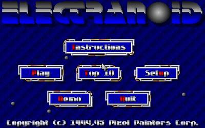 Electranoid game