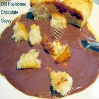 Old Fashioned Chocolate Gravy for Breakfast