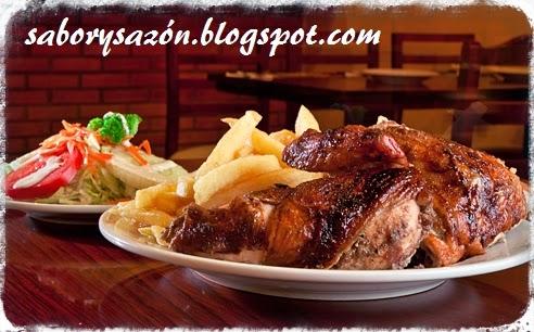 recetas con pollo al carbón