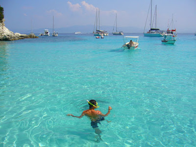 Diving and water sports in Greece, Islands of  Greece -Travel Europe Guide