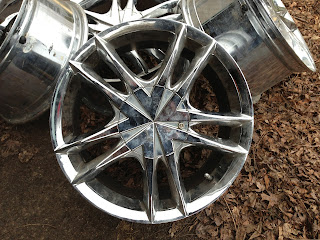Chrome Rims for trade! 574-529-0428 (call or text)