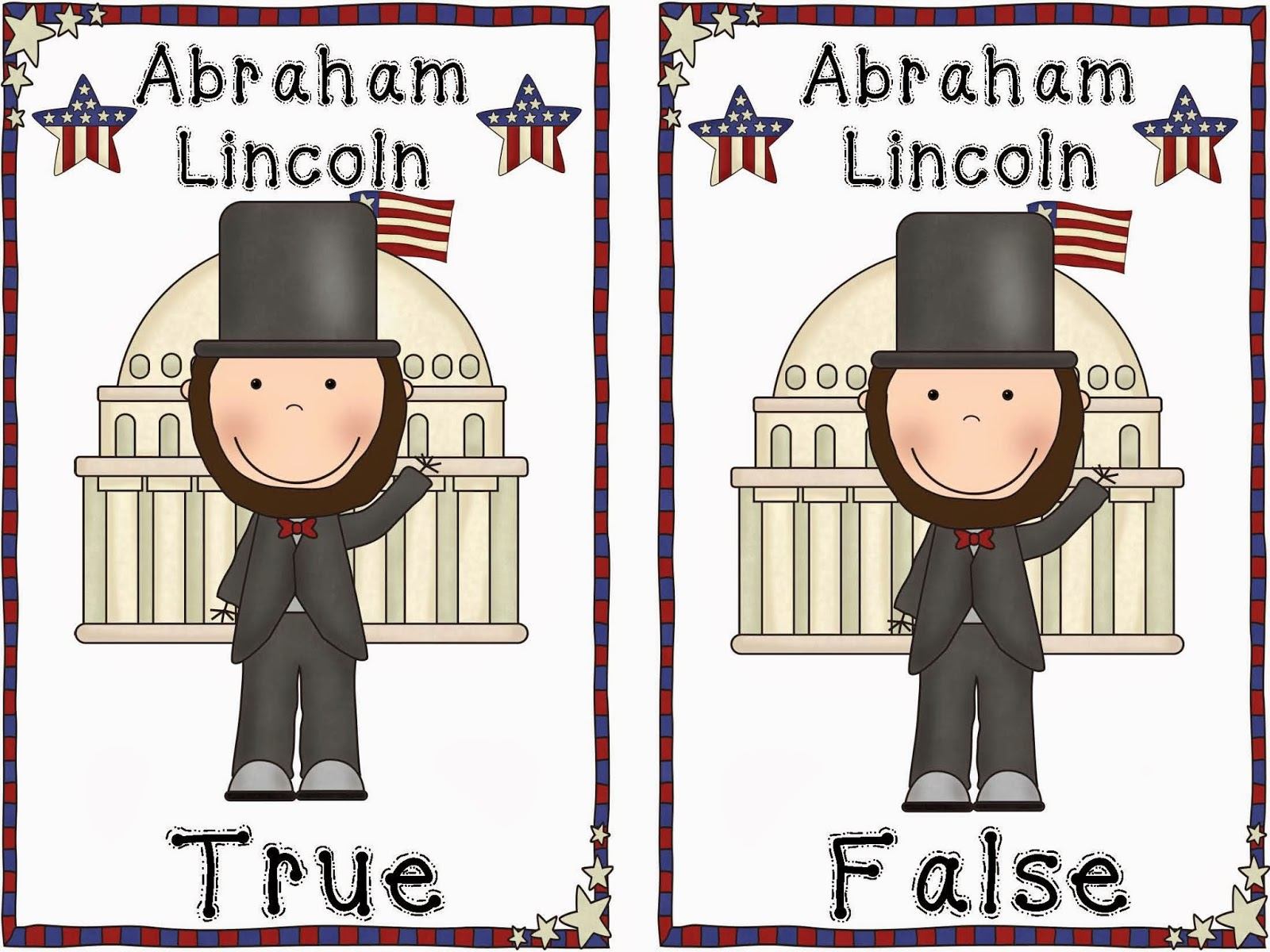 Abraham-Lincoln-TRUE-AND-FALSE-POCKET-CHART-ACTIVITY-1059327
