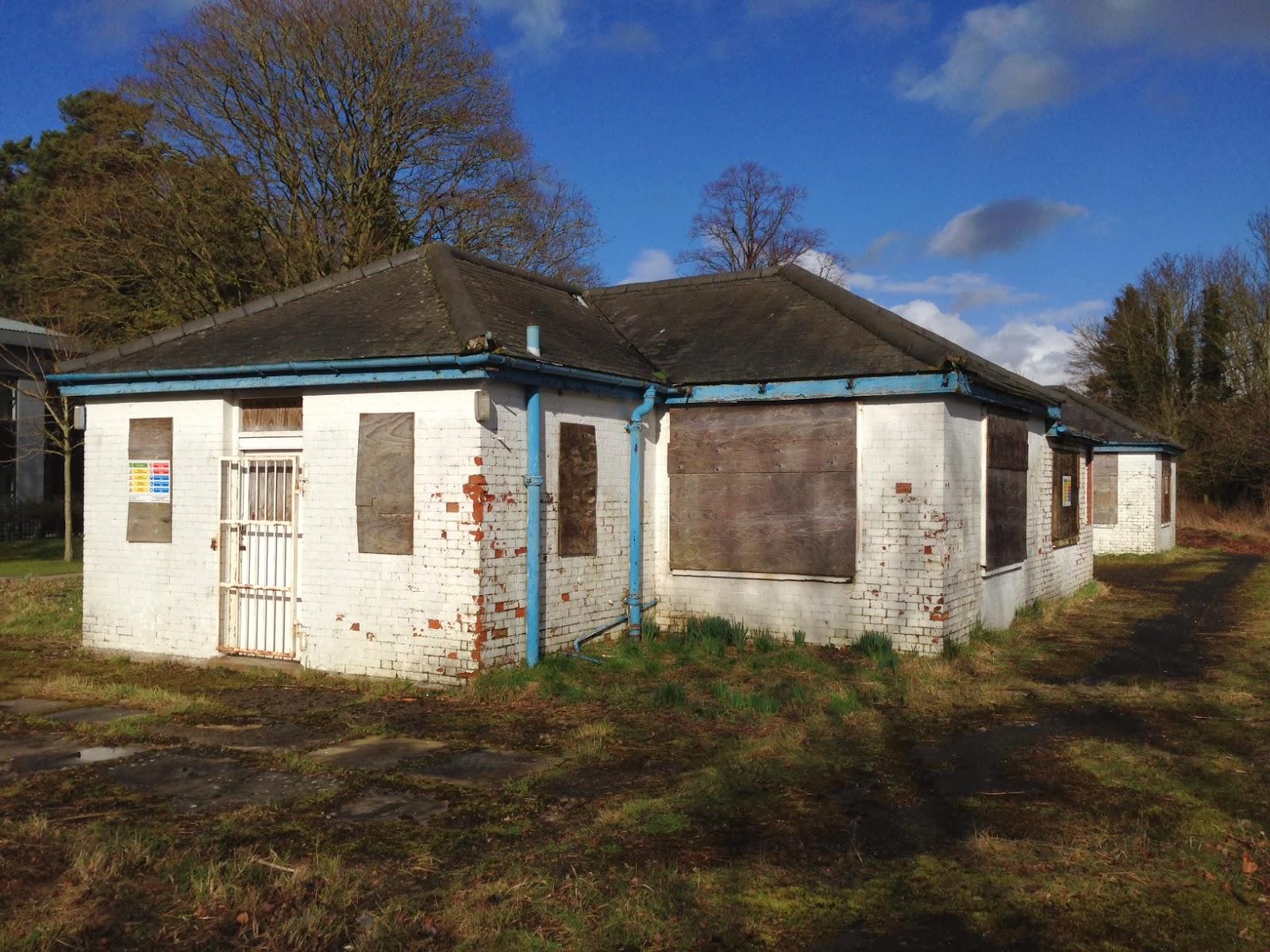 Abandoned buildings, Regent Park, Princes Risborough