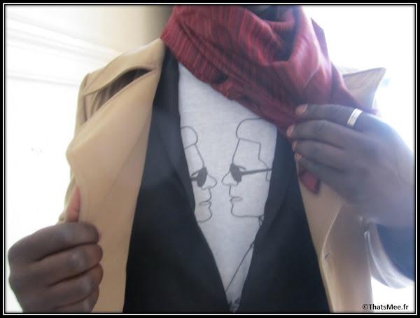 T-shirt Karl Lagerfeld Laurent Degranges, Harvey agence Kisu PR , Dedicate Magazine