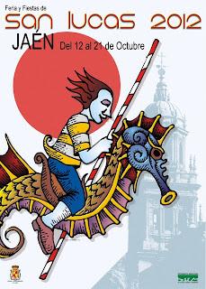 Jaén - Cartel Feria de San Lucas 2012