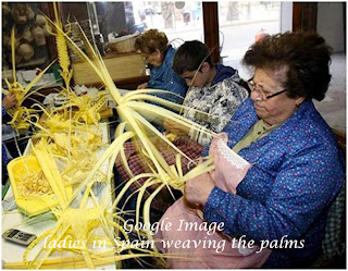 I Admire The Craftsmanship Of Those Woven Palmsthey Were Real Works Artsee Pictures Below