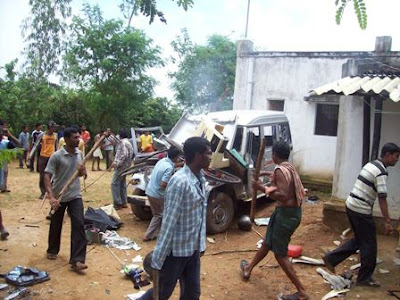Resultado de imagen para hindues atacan a cristianos
