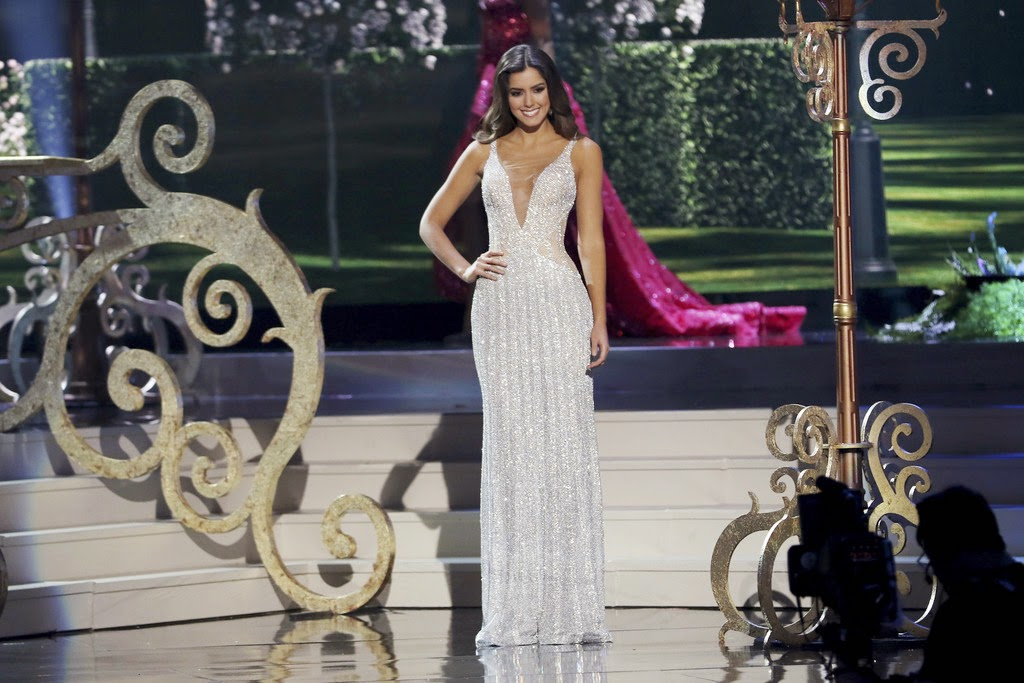 SASHES AND TIARAS.....Miss Universe 2014 Finals: Miss Colombia ...