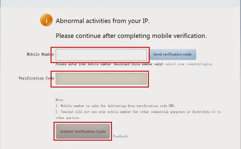 Vérification code