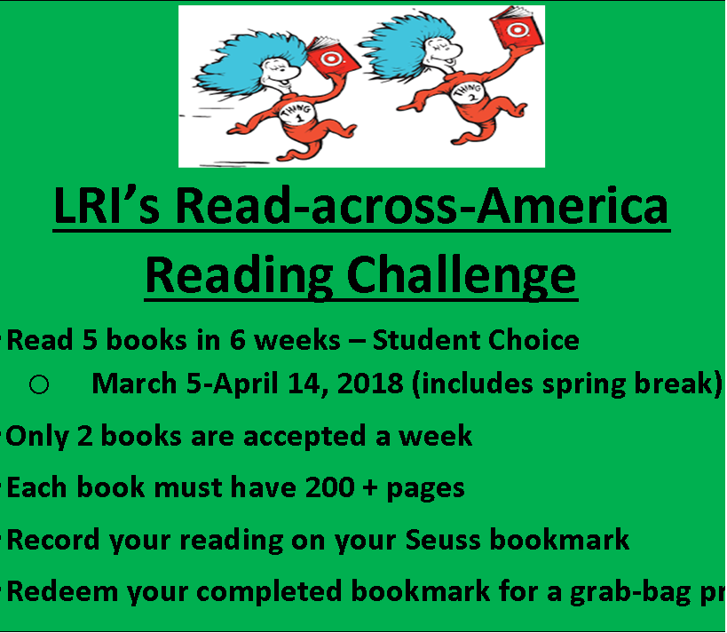 March-April Reading Challenge