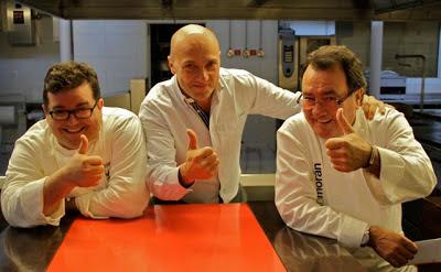 Marcos Morán, Esteban Capdevila y Pedro Morán. Blog Esteban Capdevila
