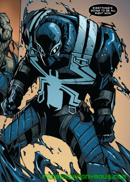 Follow Agent Venom's solo adventures in Venom by Rick Remender and Cullen Bunn