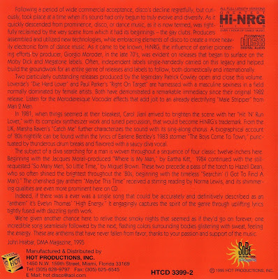 Gay Classics Vol 1 - Ridin\' The Rainbow - various artists Hi-NRG 80\'s Disco classics