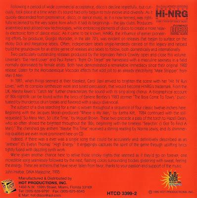 Gay Classics Vol 1 - Ridin\' The Rainbow - various artists Hi-NRG 80\'s Disco classics