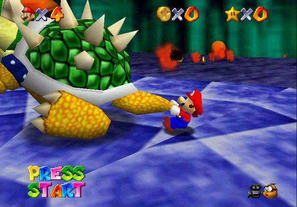 Super Mario 64 best n64 games