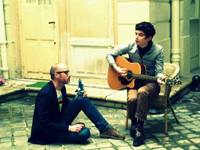 Manceau en session acoustique