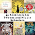 45 Book Lists for Tweens and Middle Schoolers