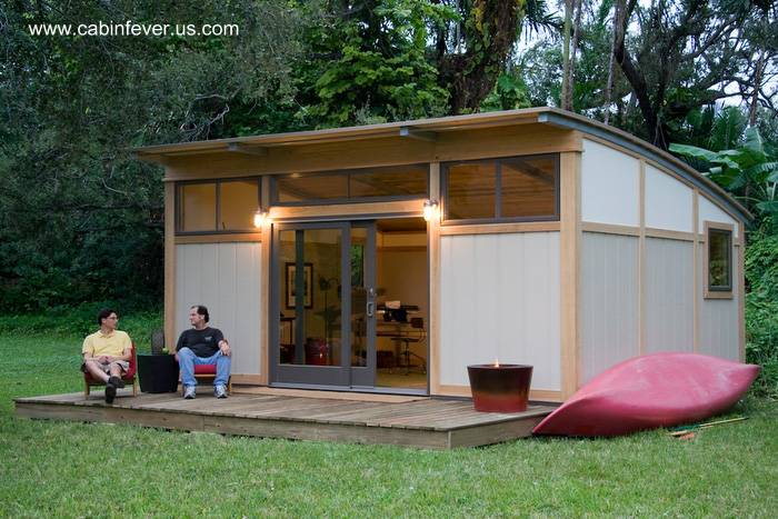 Arquitectura de casas las viviendas prefabricadas for 1 bedroom kit homes