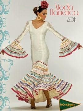 trajes de flamenca El Corte Inglés catálogo 2014