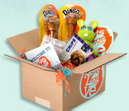 PetsLoveToys Monthly Dog Subscription Box Giveaway!