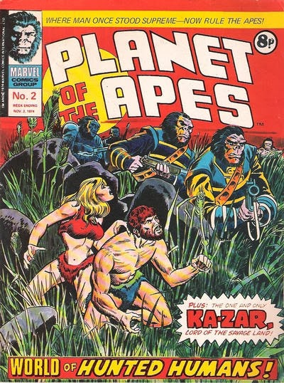 Marvel UK Planet of the Apes #2