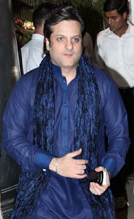 Fardeen Khan at Director Rohit Shetty's sister's wedding