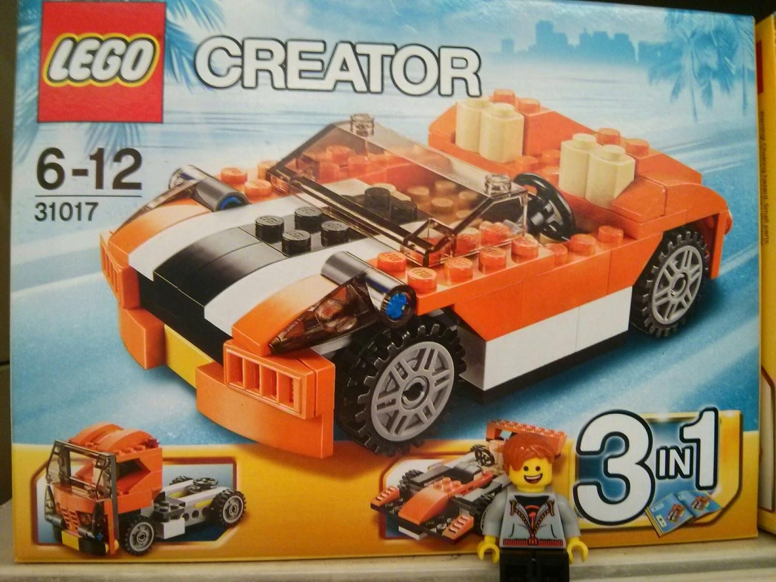 Kyle Emmett and a LEGO Creator Car
