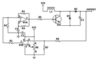 Dc Dc Converter 12v To 24v on draw schematic op amp