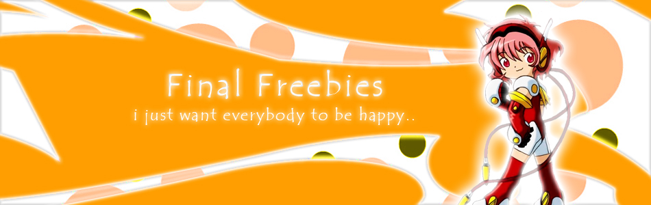 Final Freebies | Blog Freebies
