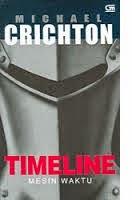 Novel Time Line by Michael Crichton