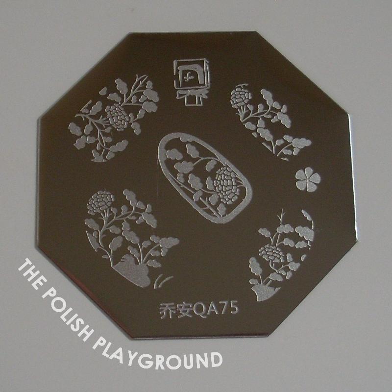 Born Pretty Store Stamping Plate QA75