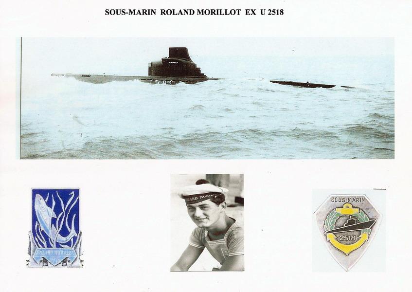 S 613 ex U2518 Roland MORILLOT