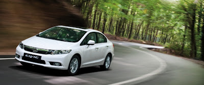 Honda Civic Sedan European Version Launched