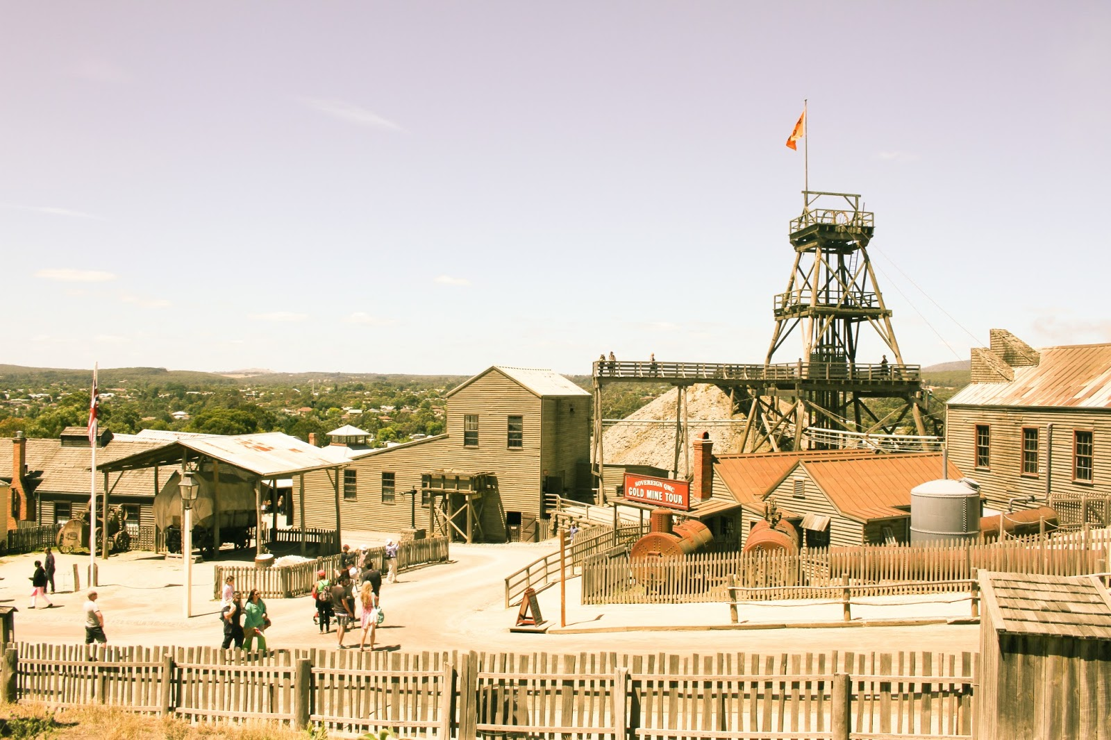 Sovereign Hill Ballarat with Finding Femme