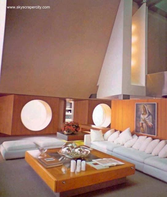 Interior de la Casa en el Aires de Hernández en México