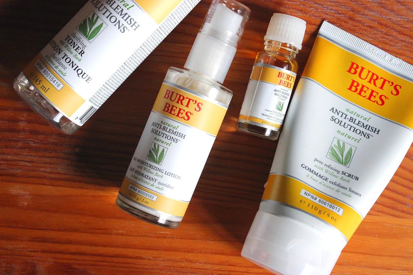 17e23c9c6 BARESOME  Burt s Bees Anti-Blemish Solutions Clarifying Toner ...